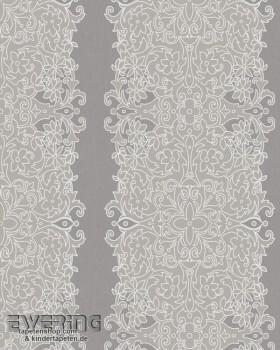 6-57106 Zuhause Wohnen 4 Marburg Vlies-Tapete Blumen taupe-grau