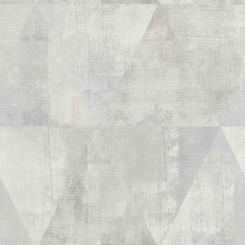 Rasch 7-410952 Hyde Park grau Dreieck Muster-Tapete matt