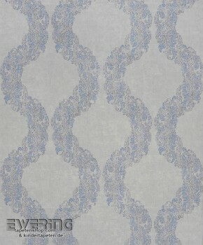 36-MAJ26426532 Casadeco - Majestic Texdecor Ornament grau Vlies