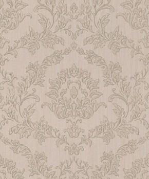 Rasch Textil Velluto 23-074917 Textiltapete braun Flur Ornamente Barock