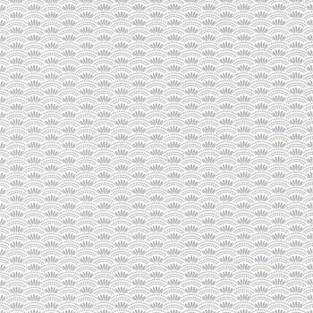 Vliestapete Haiku Weiß Grau