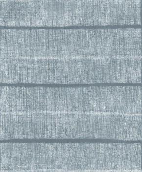 Blau Tapete Muster Zaun-Optik Tenue de Ville SAUDADE 62-SAU210707