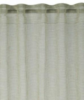 45-199241 Rasch home Fertigdeko Schlaufenband grün halbtransparent