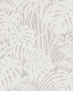 55-378018 Eijffinger Reflect creme Velour Pflanzen Tapete Vlies