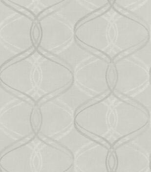 Rasch Ylvie 7-801637 Vliestapete grafisches Muster grau