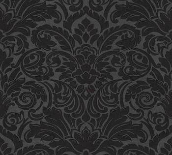 AS Creation AP Luxury Wallpaper 305455, 8-30545-5 Vliestapete schwarz Schlafzimmer