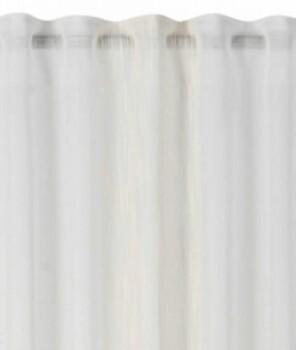 Rasch home 45-199180 Fertigdeko Schlaufenband beige halbtransparent