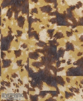 7-498233 Pop Skin Rasch beige-braun Vliestapete Fell-Optik