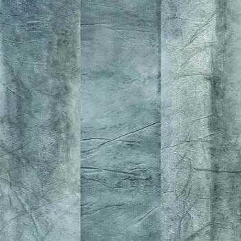 Wandpaneel Hellblau Abstrakt 48-74120130 Casamance - Estampe