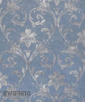 Texdecor Casadeco - Majestic 36-MAJ26406128 blau Vlies Verzierung