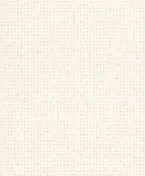 Gravity Rasch Textil 23-228822 Tapete glatt Punkte perlweiß Vlies