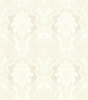 Rasch Ylvie 7-802412 Vliestapete creme-beige Ornamente Glanz