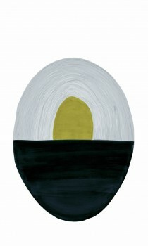 Wandbild Gemälde Oval 62-SAUD211604 Tenue de Ville SAUDADE