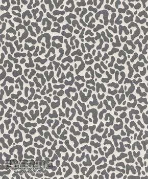 23-077390 Cassata Rasch Textil Textiltapete Leopardenmuster grau