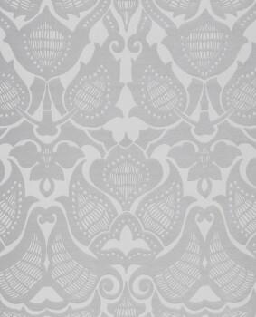 Eijffinger Lounge 55-388772 Vliestapete Ornamente grau silber