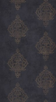 Casadeco - Prague Texdecor 36-PGE80786607 Tapete lila Ornamente