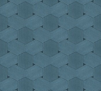 AS Creation Urban Life 326595, 8-32659-5 Vliestapete blau Schlafzimmer