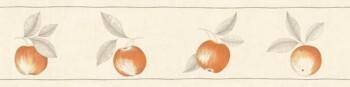 Caselio - Bon Appetit Borte 36-BAP68413056 orange Apfel Küche Vlies