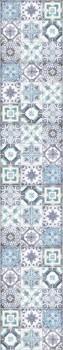 Wandbild Texdecor Caselio - Bon Appetit 36-BAP68506077 Fliesen blau