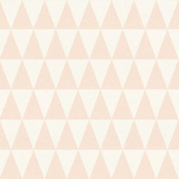 Rasch Textil Boho Chic 23-148670 Vliestapete lachsrot Dreiecke
