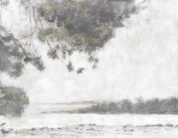 Wandbild Grau-Braun Baum Natur Aussicht 62-ODED190102 Tenue de Ville ODE